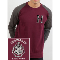 Harry Potter - Hogwarts Varsity Men's XX-Large Baseball Shirt - Red