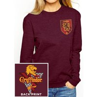 Harry Potter - House Gryffindor Women's Medium Baseball Shirt - Red