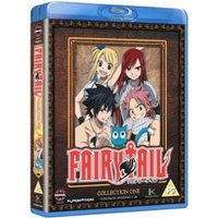 Fairy Tail Collection One Episodes 1-24 Blu-ray