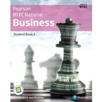BTEC Nationals Business Student Book 2 + Activebook : For the 2016 specifications