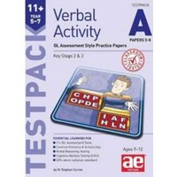 11+ Verbal Activity Year 5-7 Testpack A Papers 5-8 : GL Assessment Style Practice Papers 5-8