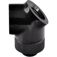 ThermalTake Pacific 45 Degree Rotary Fitting - Black