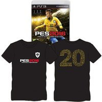 Pro Evolution Soccer 2016 Day One Edition PS3 Game (with T-Shirt)