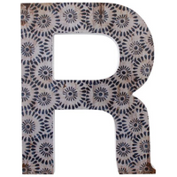 Letter R Wall Plaque
