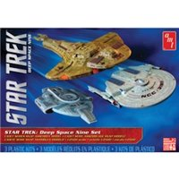 AMT 1:2500 Cadet Series Kit Star Trek Deep Space 9 Era Ships