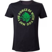 Star Wars Yoda....'May The Force Be With You' X-Large T-Shirt