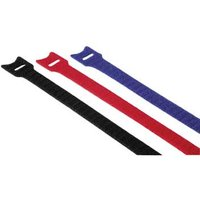 Hama Hook and Loop Cable Ties, 200 mm, coloured