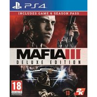 Mafia III PS4 Deluxe Edition Game (with Family Kick-Back DLC)