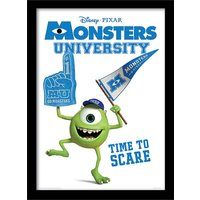 Monsters University - Time to Scare Framed 30 x 40cm Print