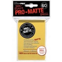 Ultra Pro Matte Small Yellow DPD 10 Packs Of 60