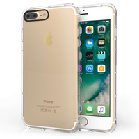 Apple iPhone 7 Plus Clear Gel Case With Black Camera Hole