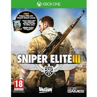 Sniper Elite III 3 with Hunt the Grey Wolf DLC Xbox One Game (with Desert Ghost Comic)