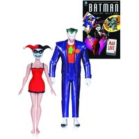 Mad Love Joker and Harley Quinn (DC Comics: Batman Animated Series) 2 Pack Action Figures