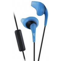 JVC HAENR15A Gumy Sport In ear Headphones with Remote & Mic Blue
