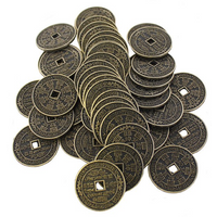 Pack of 50 3.5Cm Chinese Coins
