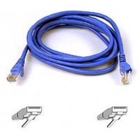 UTP PATCH CABLE (BLUE) 0.5M