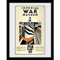 Transport For London Imperial War Museum Framed Collector Print