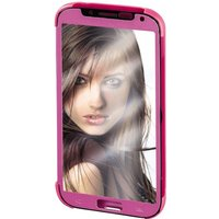 Hama Mirror Booklet Case for Samsung Galaxy S5 (Neo) Pink/Silver