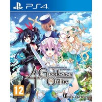 Cyberdimension Neptunia 4 Goddesses Online PS4 Game