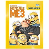 Despicable Me 3 Sticker Collection (50 Packs)