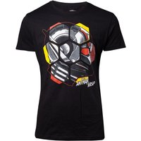 Marvel Ant-Man and the Wasp - Ant-Man Head Men's Medium T-Shirt - Black