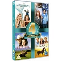 Aquamarine / Just My Luck / Flicka / Flicka 2 DVD