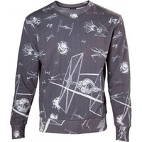 Star Wars Imperial Fleet TIE Fighters All-Over Print Sublimation XX-Large Sweater