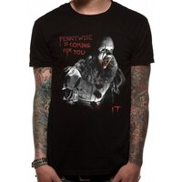 IT- Coming For You Men's X-Large T-Shirt - Black