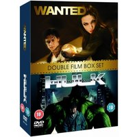 Wanted / The Incredible Hulk Double Pack DVD