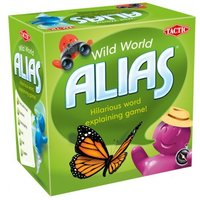 Snack Play Alias: Wild World Edition Board Game