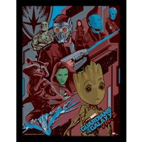 Guardians Of The Galaxy Vol. 2 - Galactic Framed 30 x 40cm Print