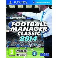 Football Manager Classic 2014 Game PS Vita