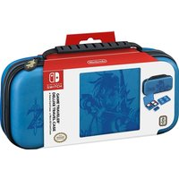 Nintendo Switch Officially Licensed Zelda Breath of the Wild Link Blue Deluxe Travel Case
