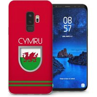CASEFLEX SAMSUNG GALAXY S9 PLUS WALES WORLD CUP CASE / COVER (3D)