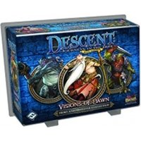 Descent 2nd Edition Hero and Monster Collection Visions of Dawn Expansion Board Game