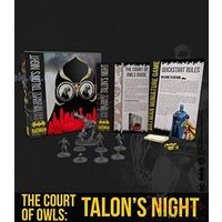Batman Miniature Game The Court of Owls Talon's Night Bat-Box Board Game