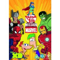 Phineas & Ferb Mission Marvel DVD