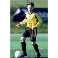 Precision Atletico Shirt 26-28 inch Yellow/Black