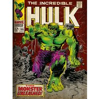 Incredible Hulk - Monster Unleashed Canvas