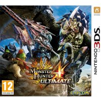Monster Hunter 4 Ultimate 3DS Game