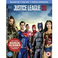 Justice League 3D Blu-ray   Blu-ray   Digital Download