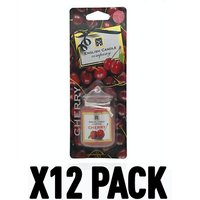 Cherry (Pack Of 6) English Candle Car Jar