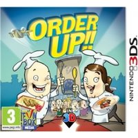Order Up!! Game 3DS