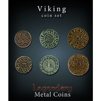 Legendary Metal Coins Viking Coin Set