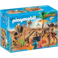 Playmobil Egyptian Tomb Raiders' Camp