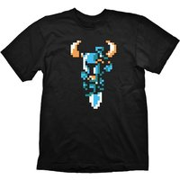 Shovel Knight - Shovel Attack Men's Large T-Shirt - Black