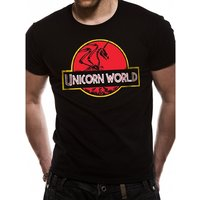 Cid Originals - Unicorn World Men's Small T-shirt - Black