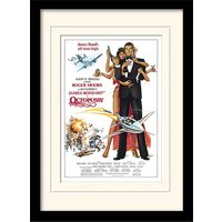 James Bond - Octopussy One-sheet Mounted & Framed 30 x 40cm Print