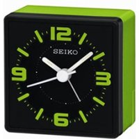 Analogue Bedside Alarm Clock Green