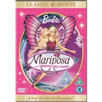 Barbie - Mariposa And Her Butterfly Fairy Friends DVD
